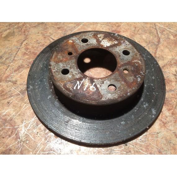 Купить Диск тормозной задний для Nissan Almera N16 2000-2006 в Интернет-магазине