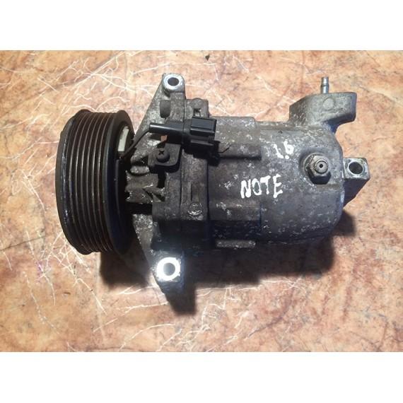 Купить Компрессор системы кондиционирования для Nissan Note (E11) 2006-2013;Micra (K12E) 2002-2010;Tiida (C11) 2007-2014 в Интернет-магазине