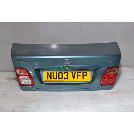 Купить Крышка багажника Nissan Almera N16 843009M730 в Интернет-магазине