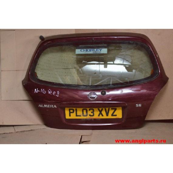Купить Крышка багажника Nissan Almera N16 Хэтчбек в Интернет-магазине