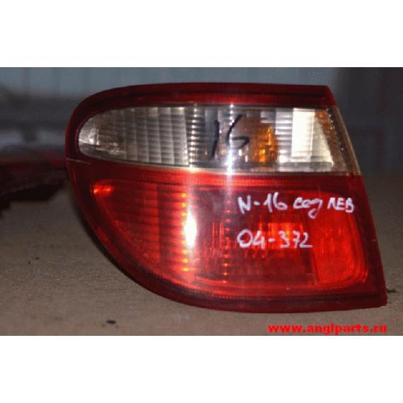Купить Фонарь внешний левый Nissan Almera N16 2000-2006 седан в Интернет-магазине