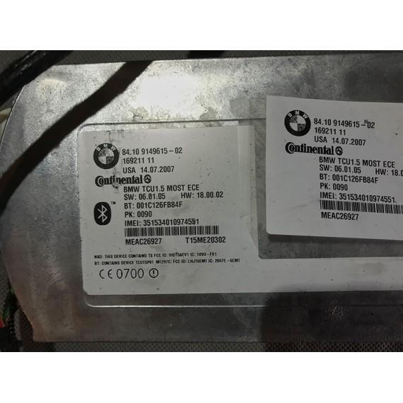 Купить Блок управления телематик BMW 84109149615 в Интернет-магазине