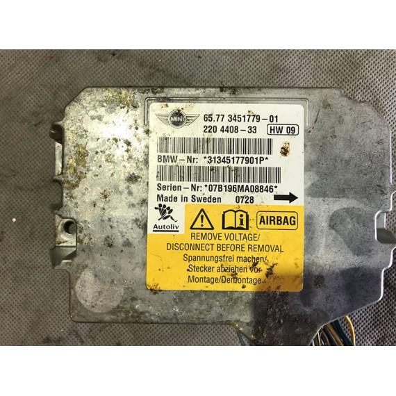 Купить Блок Airbag (ЭБУ НПБ) Mini 65773451779 в Интернет-магазине