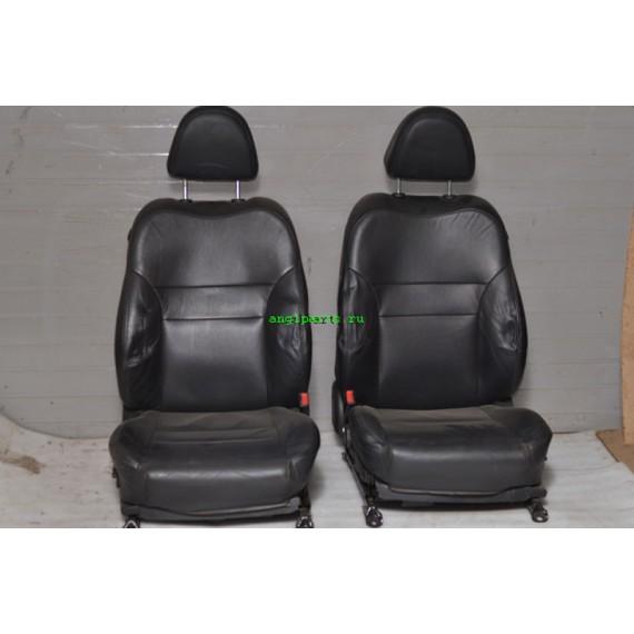 Купить Кожаный салон Nissan Primera P12 черный в Интернет-магазине