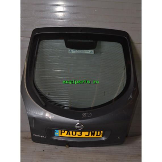 Купить Дверь багажника Nissan Primera P12 серая в Интернет-магазине