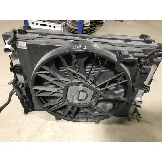 17427524881 Диффузор с вентилятором BMW Е65 купить в Интернет-магазине