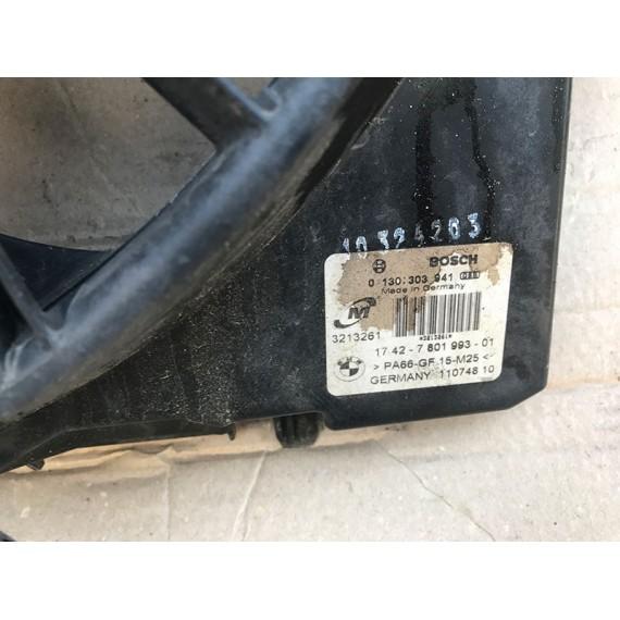 17427801993 Вентилятор радиатора в сборе BMW E87 E90 E84 купить в Интернет-магазине