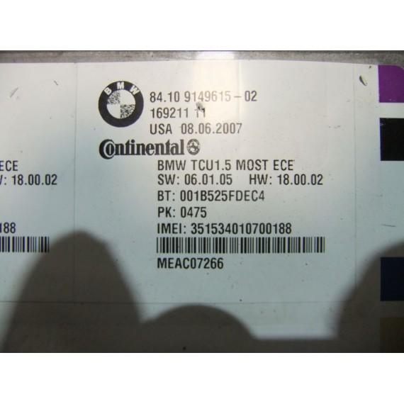 84109149615 Блок управления телефоном BMW купить в Интернет-магазине