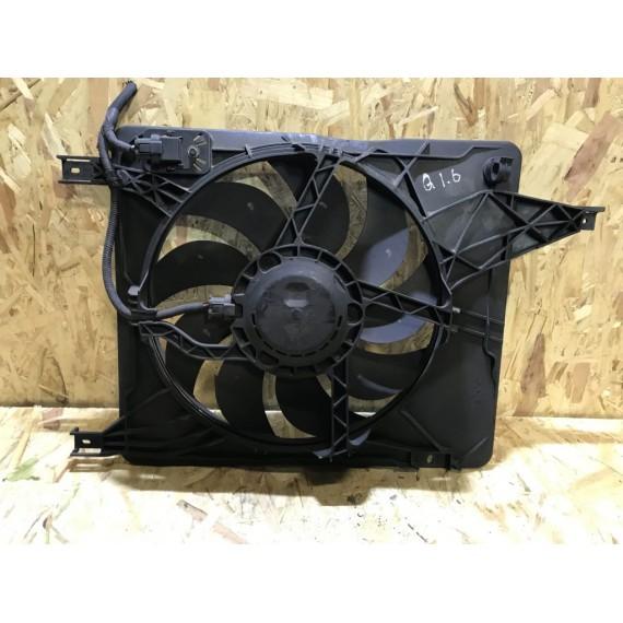 21481JD200 Вентилятор в сборе с диффузором Nissan Qashqai J10 купить в Интернет-магазине
