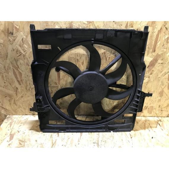 17427796572 Вентилятор радиатора с кожухом BMW Х5 Е70 Х6 Е71 купить в Интернет-магазине