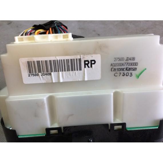 27500JD40B Блок управления климатом Nissan Qashqai J10 купить в Интернет-магазине