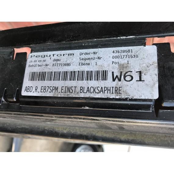 51777837436 Накладка порога правая M BMW E87 купить в Интернет-магазине