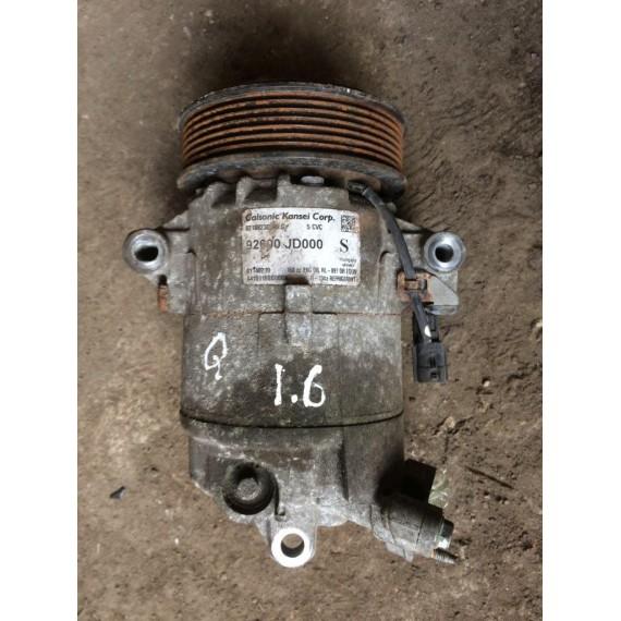 92600JD000 Компрессор кондиционера Nissan Qashqai купить в Интернет-магазине
