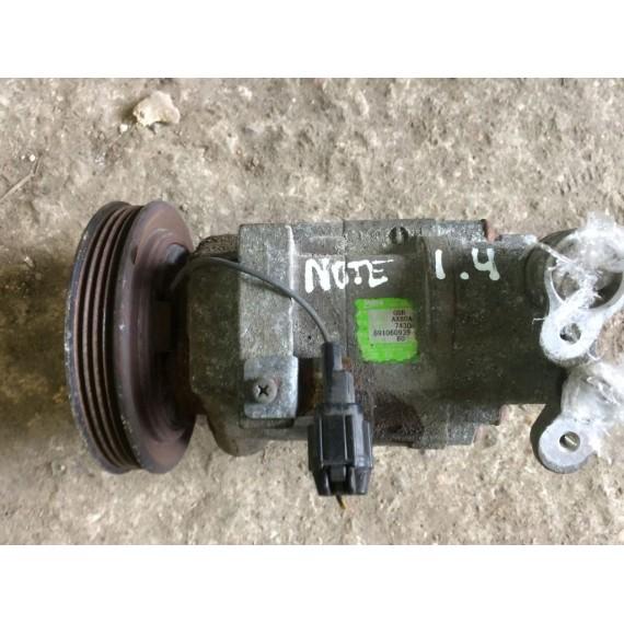 92600AX80A Компрессор кондиционера Nissan Note E11 купить в Интернет-магазине