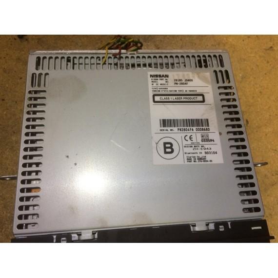 28185JD400 Магнитола Nissan Qashqai J10 купить в Интернет-магазине