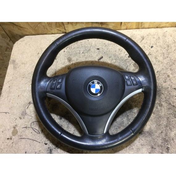 6769894 Руль BMW E90 E87 спорт в сборе с Airbag купить в Интернет-магазине