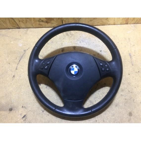 32306795568 Руль кожа BMW E90 E84 в сборе с Airbag купить в Интернет-магазине