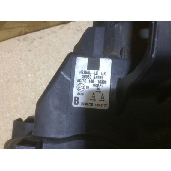 26060BN675 Фара левая Nissan Almera N16 купить в Интернет-магазине