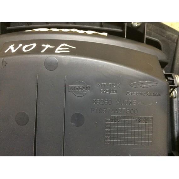 682619U06D  Рамка магнитолы 2 Din Nissan Note E11 купить в Интернет-магазине