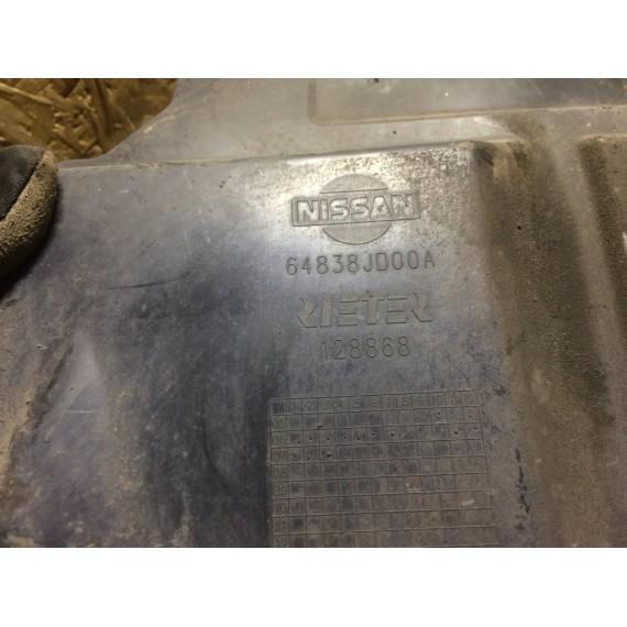 64838JD00A Пыльник двигателя R Nissan Qashqai J10 купить в Интернет-магазине