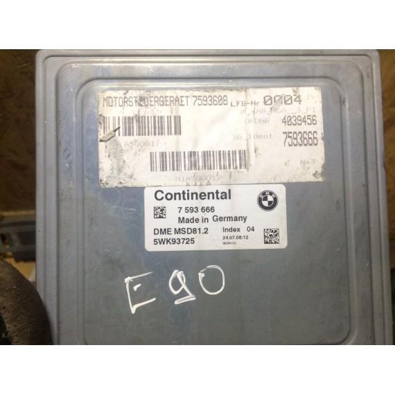 7593666 ЭБУ DME Блок управления  BMW E60 90 купить в Интернет-магазине