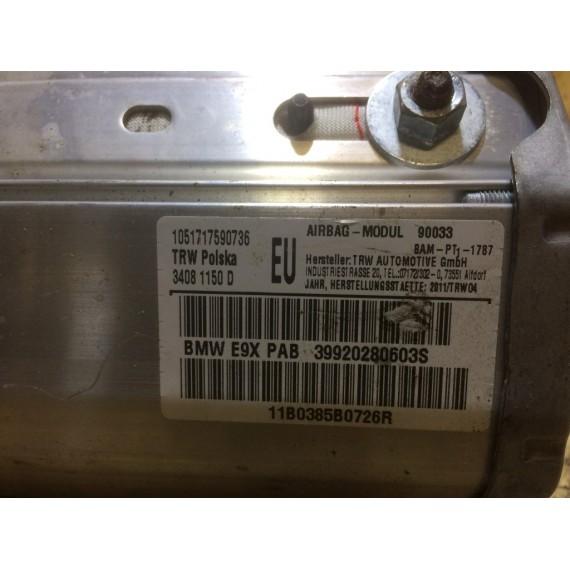 72129138247 Подушка пассажира airbag BMW E90 купить в Интернет-магазине