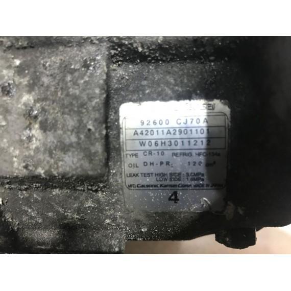 92600CJ70A Компрессор кондиционера Nissan Note E11 купить в Интернет-магазине