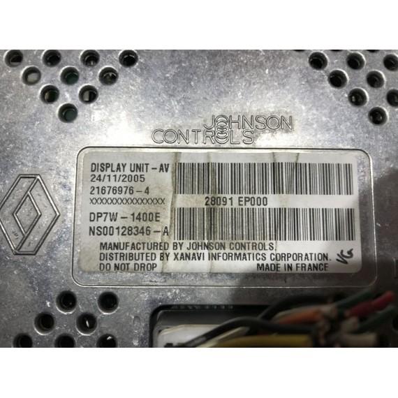 28091EP000 Дисплей Nissan Qashqai J10 купить в Интернет-магазине