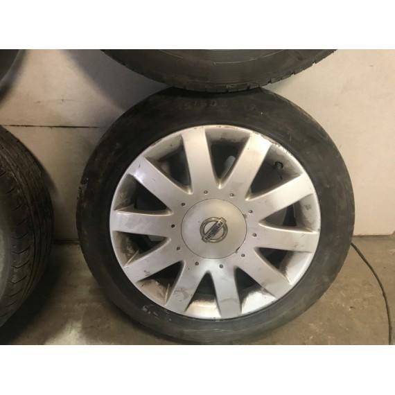 Колеса в сборе R17 5x114.3 Nissan Primera P12 купить в Интернет-магазине