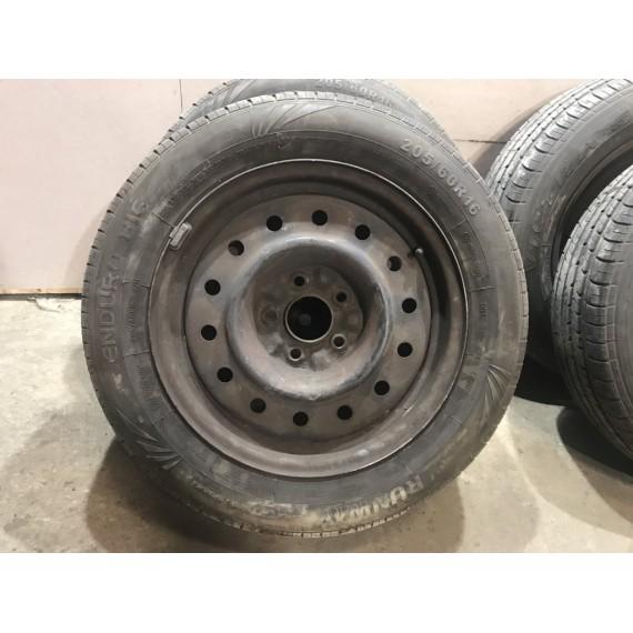 Колеса в сборе R16 Nissan Primera P12 пара пара купить в Интернет-магазине