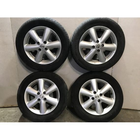 Колеса в сборе R15 185/65 4x100 Nissan Note E11 купить в Интернет-магазине