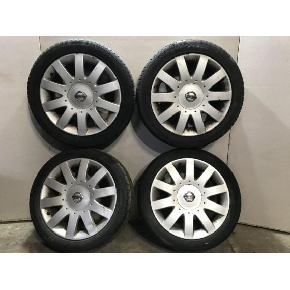 Колеса в сборе R17 215/50 Nissan Primera P12 купить в Интернет-магазине