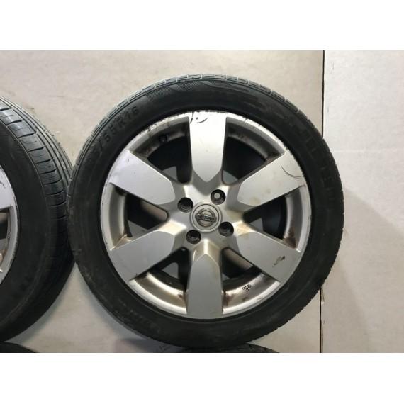 Колеса в сборе R16 Nissan Note 4x100 185/55 цо66.1 купить в Интернет-магазине
