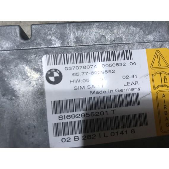 65776929552 блок управления AIR BAG BMW E65 купить в Интернет-магазине