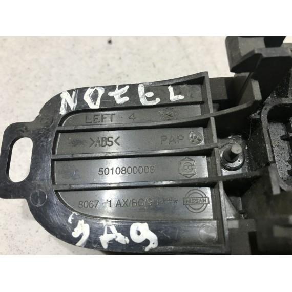 806719U000 Ручка двери левой Nissan Note E11 купить в Интернет-магазине