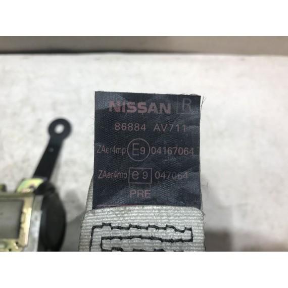 86884AV711 Ремень безопасности  Nissan Primera P12 купить в Интернет-магазине