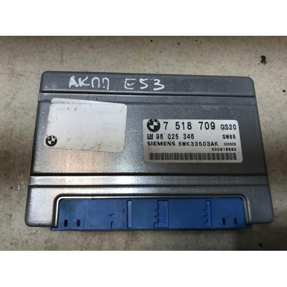 7518709 Блок управления АКПП BMW X5 E53 купить в Интернет-магазине