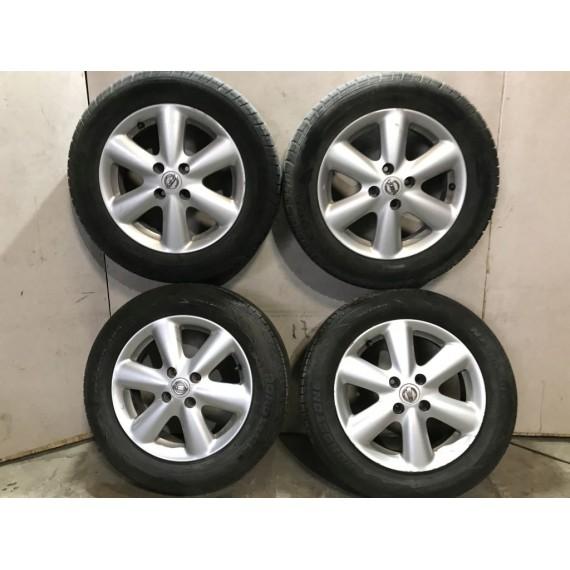 Колеса Nissan Note E11 185 65 R15 4x100 в сборе купить в Интернет-магазине