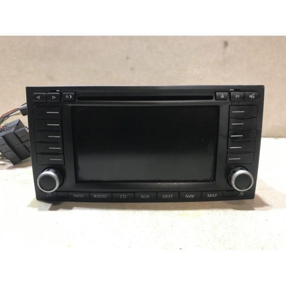 7L6035191R Магнитола DVD с навигацией VW Touareg 1 купить в Интернет-магазине