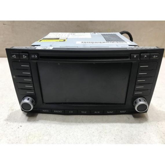 7L6035191N Магнитола DVD с навигацией VW Touareg 1 купить в Интернет-магазине